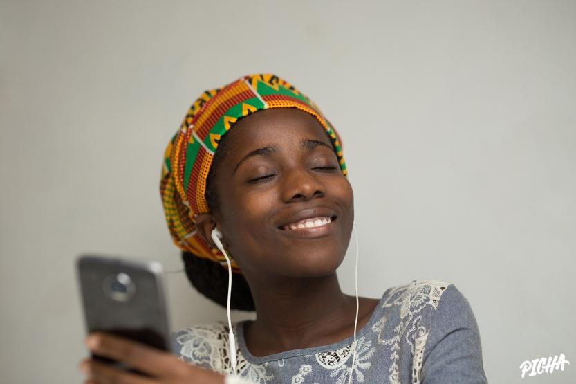 Portrait of a beautiful Ghanaian woman